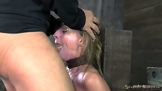 Fucking Face And Making A Spit Soaked Mess Of Her