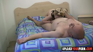 Blonde Fucked By A Fat Dude