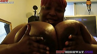 Ebony Fat Mom With Huge Boobs
