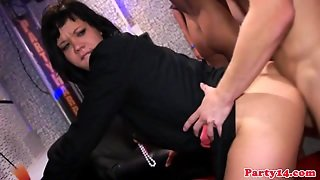 Real Party Slut Does Doublepenetration