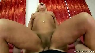 Old Maid Gets Fucked In Pov