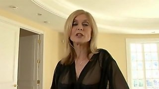 Busty Mature Analed In Stockings