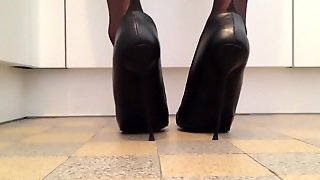 Posing Luxury High Heels