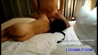 Asian Shared Wife With Hot Guy From Work