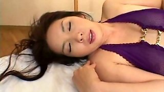 Straight Haired Full Of Emotions Japanese Nympho Plays With Vibrator