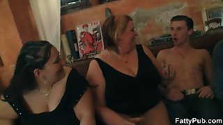 Big Tits Party With Striping And Cock Sucking