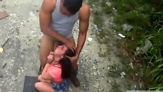 Rough Man And Russian Teen Bondage Car Problems In The