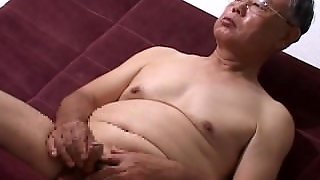 Japanese, Old Man, Asian, Gay, Daddy