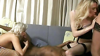 In His Blonde Sucks Dick
