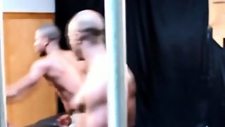 Gayblack Musclular Hunks Foursome Action