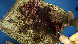 Urine Spread On Mother Sarong