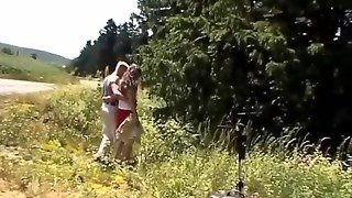 Pitstop For Anal Sex In Nature