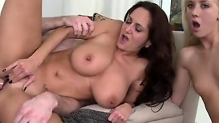 Roxxi Plays Bigcock In Her Mouth