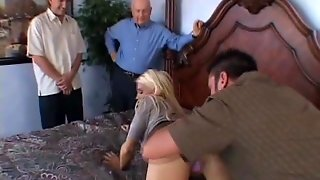 Blondy Wife Creampie Drips