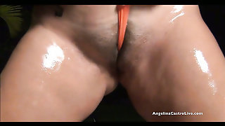 Big Titted Angelina Castro Interracial Hand Domination!!!