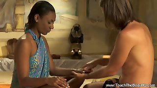 Specific Body Massage From Asian Milf