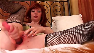 Naughty Red Head Milf