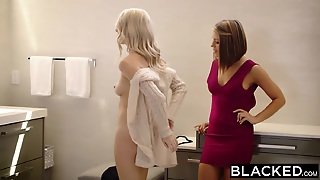 Blacked Adriana Chechik And Cadence Lux First Interracial