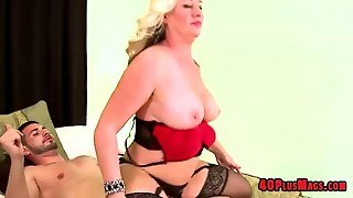 Big Tit Blonde Mature Housewife