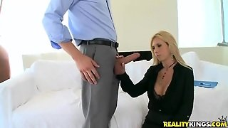 Brooke Tyler And Xander Corvus In A Glamour Scene