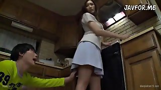 Japanese Son Seduces Mom Julia Boin Pt. 3 (English Sub)