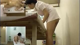 Japanese Cutie Gets A Massage