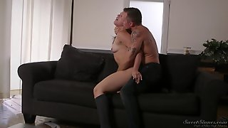 Kimber Woods Is A Cute Babe Seduced By A Cunt Craving Lover