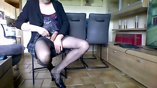 Geil In Nylons