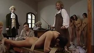 Caning On Bench