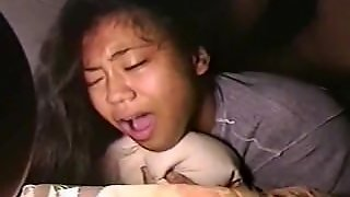 Young Asian Girl Losing Her Anal Virginity
