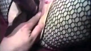 Dildo And Stockings Fetish Video