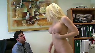 Anthony Rosano And Kagney Linn Karter Make A Great Couple As They Have Hot Sex In The Office. This Is A Great Hardcore Movie. This Sexy Pornstar Gets Her Big Tits Out And Slides His Big Hard Cock Between Them Before Giving Him A Great Blow Job.