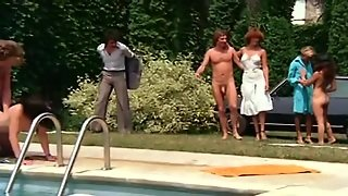 French Hairy, Hairy French, French Group, Group Swingers, Group Vintage, Group French, Lawn, Us Group Sex