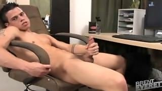 Brent's Cock Is Too Big For His Jock!