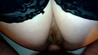 Sex With Mature Woman. Hot Black Stockings.