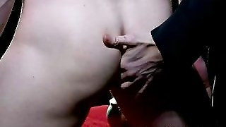 Innocent Guy Jerked And Assfucked With Plug By Mature Gay Man