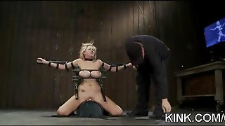 Busty Waitress Punished Bdsm 5