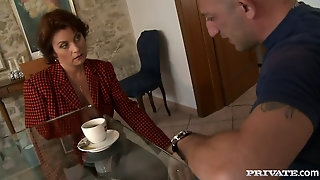 This, Mommy, High, Definition, Oldy, Mature, Check, Work, Russian, Swallowing, Sucking