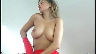 Bigtits A Huge Dildo And Fetish Dress