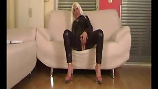 Blonde Latex Milf Part I