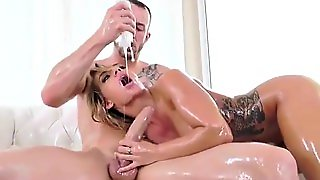 Cali Carter Oiled