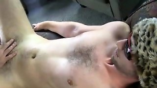 Straight Amateur Receives Handjob And Bj