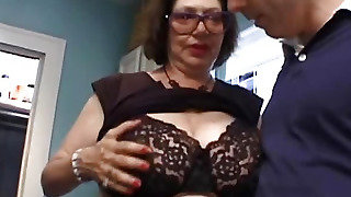 Big Tits Bitch Touch Men
