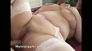 Plumper Double Fucked Over A Pool Table