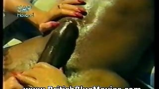 Misty Mccaine - British Vintage Interracial Hardcore