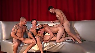 Gay Party Ends With Huge Loads