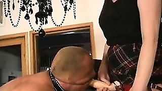 Guy Strapon Fucked By Two Nasty Dommes