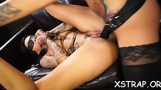 Agreeable Readhead Desires Toys For Her Crazy Pussy