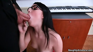 Alec Knight Plays With Irresistibly Hot Megan Pipers Slit Before
