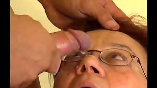 Delicious Granny Enjoys Anal In Front Of The Camera